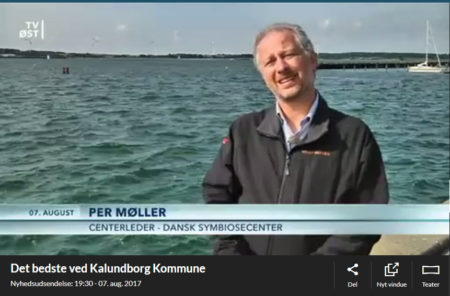 Feature about the Kalundborg Symbiosis onTV East