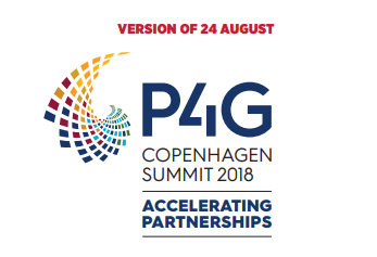 Participating in P4G Copenhagen summit