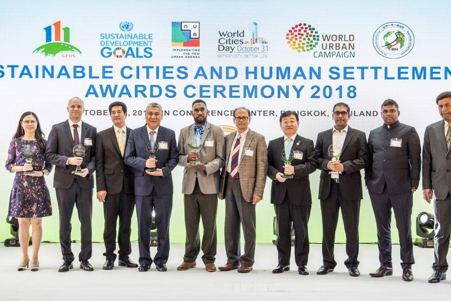 Kalundborg Symbiosis wins the SCAHSA award
